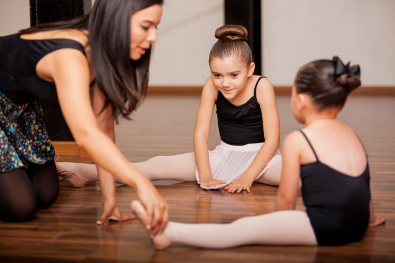 teacher training ballet girls